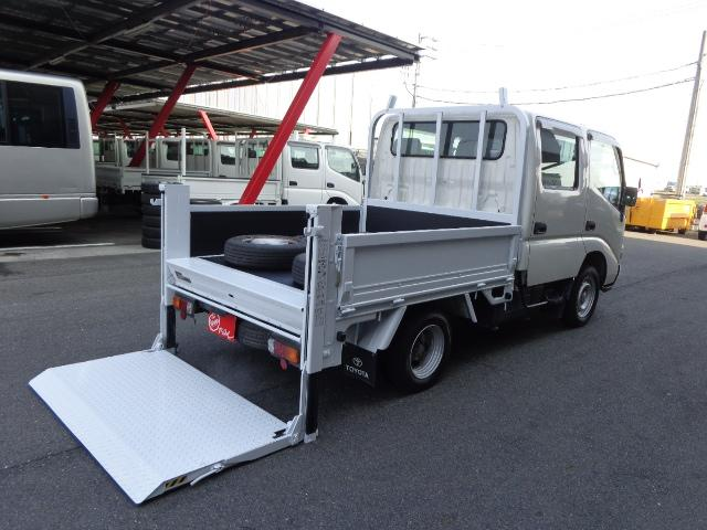 トヨタ ダイナトラック Wキャブ 1.1トン 垂直パワーゲート