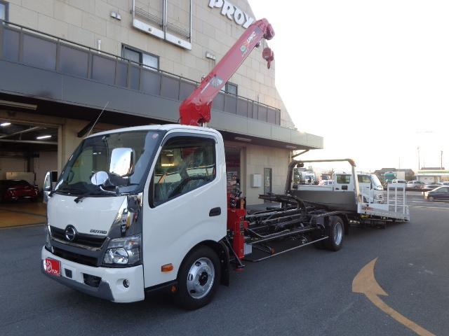 日野 4段ユニック ラジコン 積載車 2.4トン