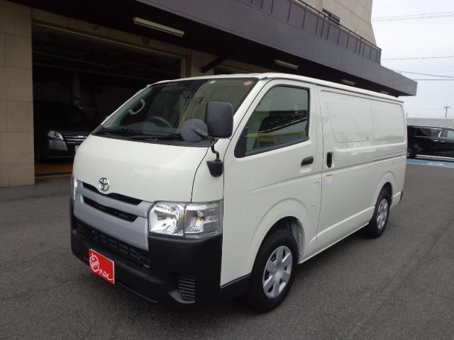 トヨタ  中温冷凍バン 積載1.25トン ナビ バックカメラ