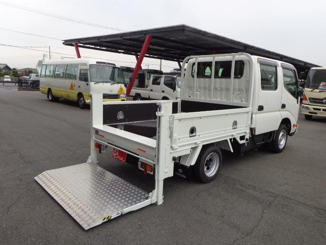 トヨタ トヨエース  Wキャブ 1.05t 垂直パワーゲート