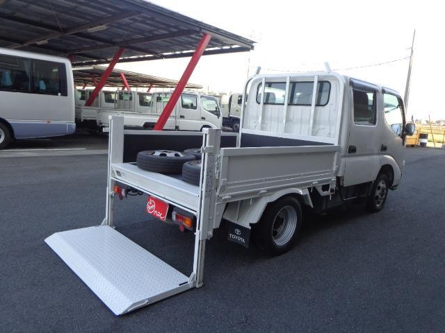 トヨタ ダイナトラック  4WD Wキャブ 1.05トン 垂直パワーゲート