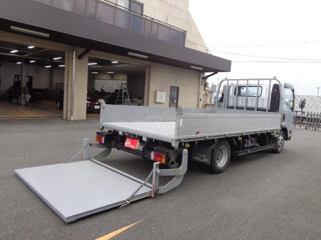 いすゞ  積載2トン ワイドロング アルミブロック パワーゲート