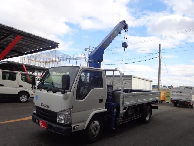 いすゞ  積載3トン 3段タダノクレーン ラジコン