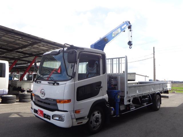 UDトラックス  2.45トン 4段タダノクレーン ラジコン