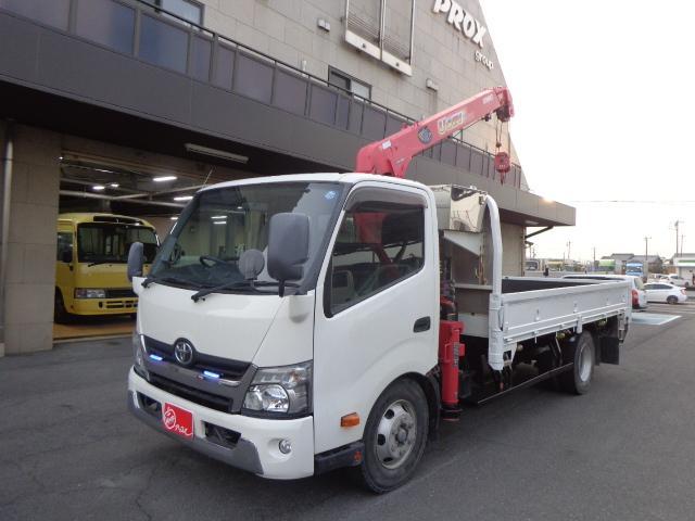 トヨタ  積載3トン 4段ユニッククレーン ラジコン