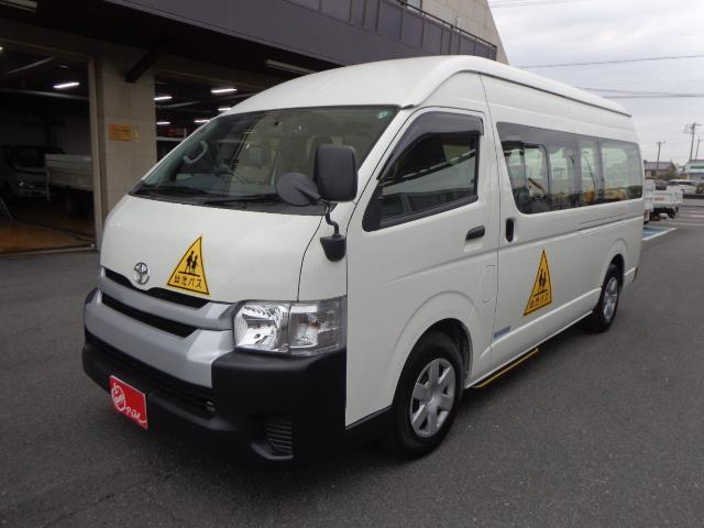 トヨタ ハイエースコミューター  幼児バス 4+18/1.5人乗り ナビ バックカメラ