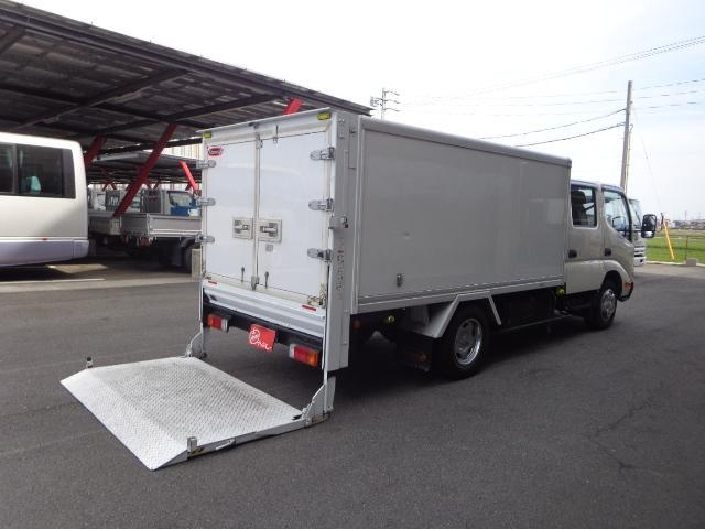 トヨタ ダイナトラック  Wキャブ 2トン 中温冷凍車 パワーゲート