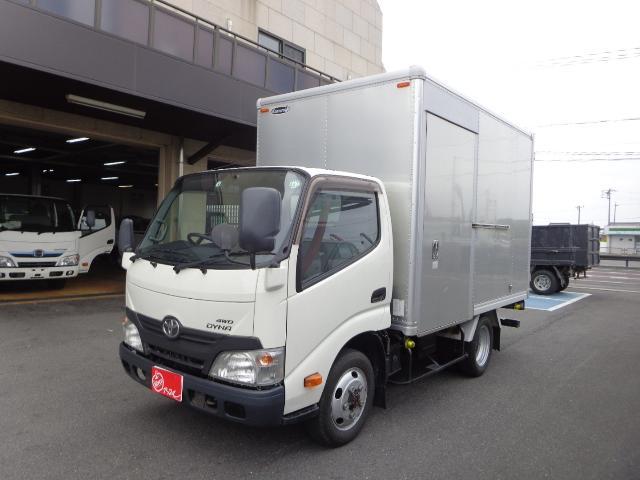 トヨタ  4WD 2トン アルミバン ナビ バックカメラ