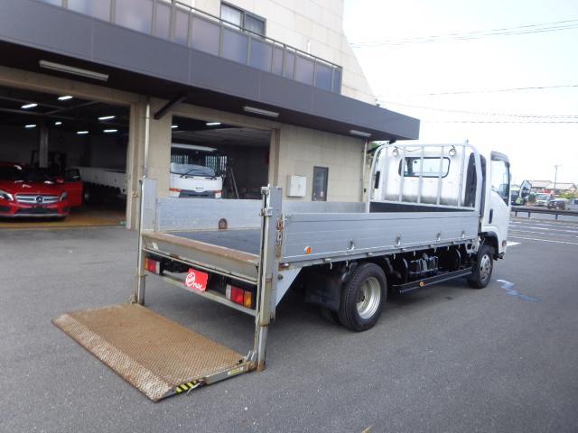 いすゞ エルフトラック  4WD 1.85トン アルミブロック 垂直パワーゲート