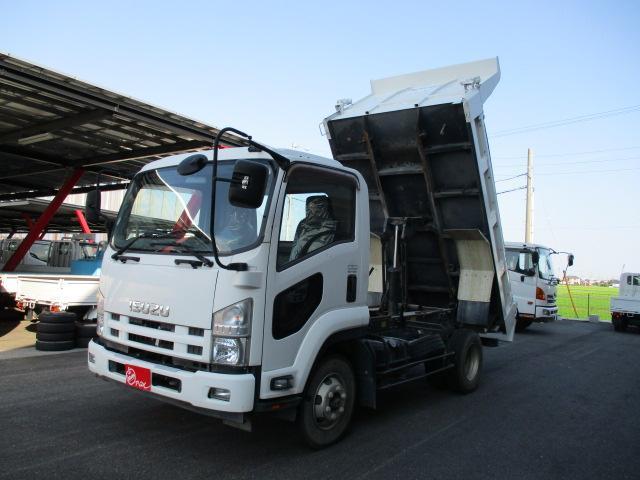 いすゞ  3.75トンダンプ 電動コボレーン