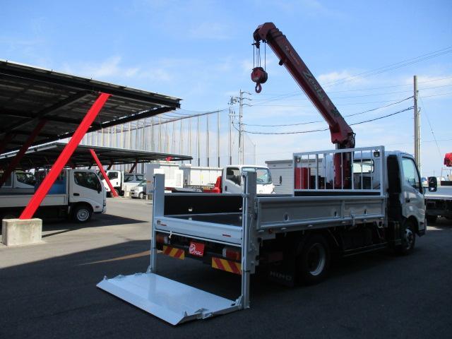 日野 デュトロ  3.3トン 4段タダノクレーン ラジコン 垂直PG