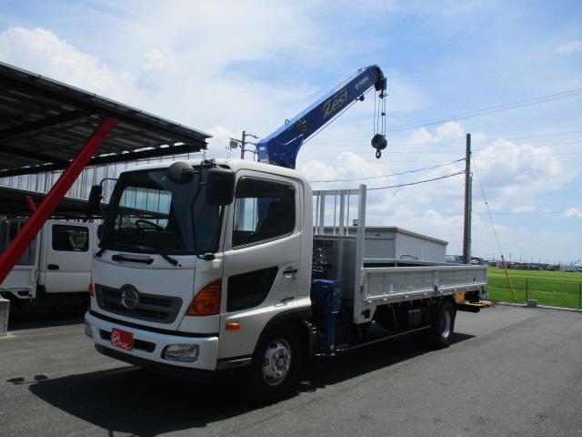日野 レンジャー  2.65トン 4段タダノクレーン ラジコン