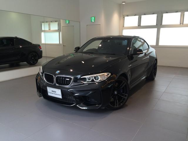 沖縄の中古車 BMW BMW M2 車両価格 695万円 リ済込 2017年 1.3万km ブラックM