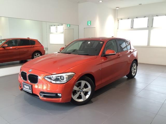 沖縄の中古車 BMW BMW 車両価格 158万円 リ済込 2013年 4.4万km オレンジM