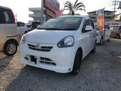 沖縄の中古車 ダイハツ ミライース 車両価格 34万円 リ済込 平成25年 8.5万K ホワイト
