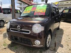 沖縄の中古車 ダイハツ ミラココア 車両価格 50万円 リ済込 平成21年 7.4万K ブラウン