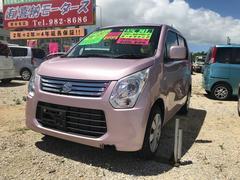 沖縄の中古車 スズキ ワゴンR 車両価格 54万円 リ済込 平成25年 3.3万K ピンク