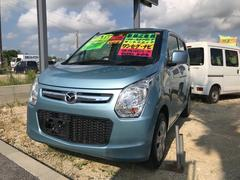 沖縄の中古車 マツダ フレア 車両価格 60万円 リ済込 平成26年 4.7万K ブルーM
