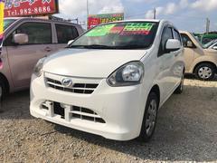 沖縄の中古車 ダイハツ ミライース 車両価格 34万円 リ済込 平成25年 7.7万K ホワイト