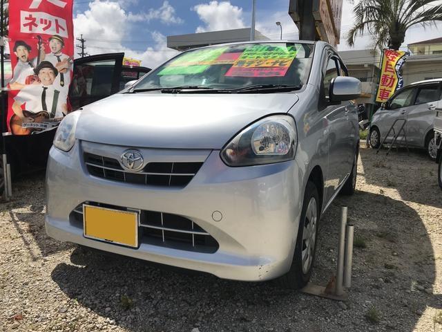 沖縄の中古車 トヨタ ピクシスエポック 車両価格 44万円 リ済込 平成24年 9.0万km シルバー