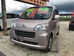 沖縄の中古車 ダイハツ タントエグゼ 車両価格 44万円 リ済込 平成23年 7.2万K ピンク