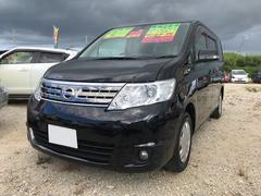 沖縄の中古車 日産 セレナ 車両価格 55万円 リ済込 平成22年 8.4万K ブラック