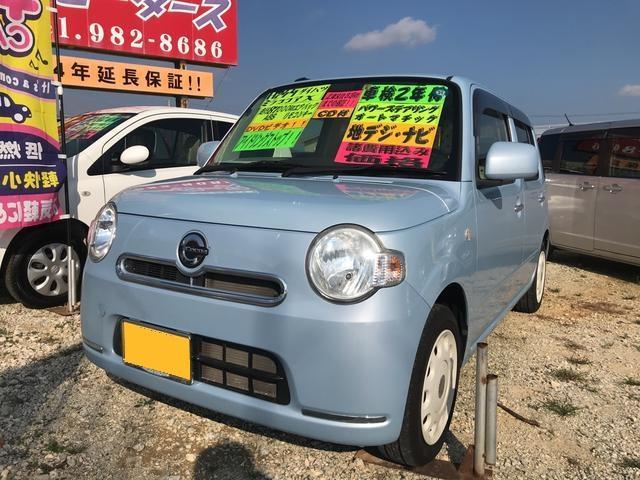 沖縄の中古車 ダイハツ ミラココア 車両価格 50万円 リ済込 平成24年 8.6万km ミズイロ
