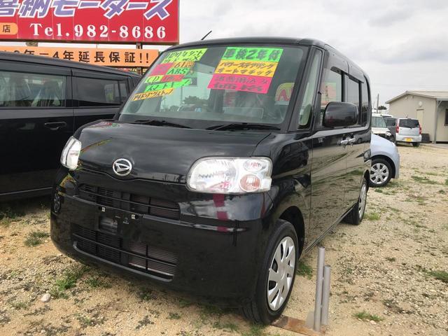 沖縄の中古車 ダイハツ タント 車両価格 60万円 リ済込 2012(平成24)年 6.1万km ブラック