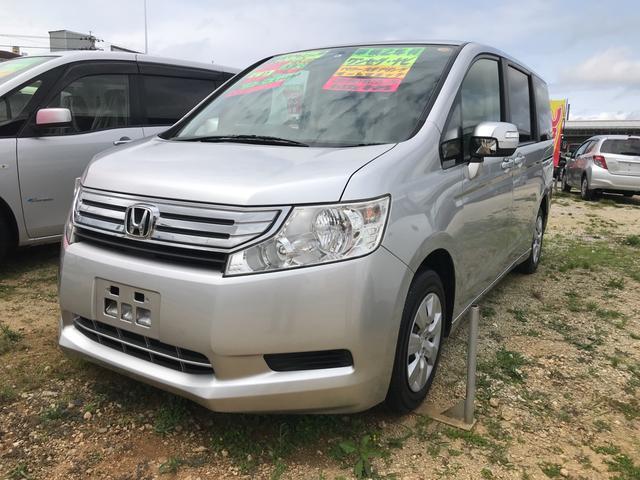 沖縄の中古車 ホンダ ステップワゴン 車両価格 49万円 リ済込 平成22年 9.5万km シルバー