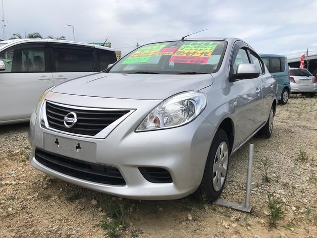 沖縄の中古車 日産 ラティオ 車両価格 59万円 リ済込 2012(平成24)年 1.1万km シルバー