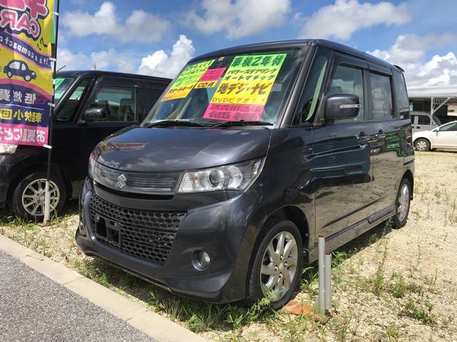 沖縄県の中古車ならパレットSW リミテッドII 両側パワースライドドア ワンセグナビ ETC