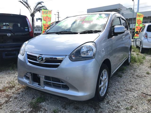 沖縄の中古車 ダイハツ ミライース 車両価格 43万円 リ済込 2012(平成24)年 2.3万km シルバー