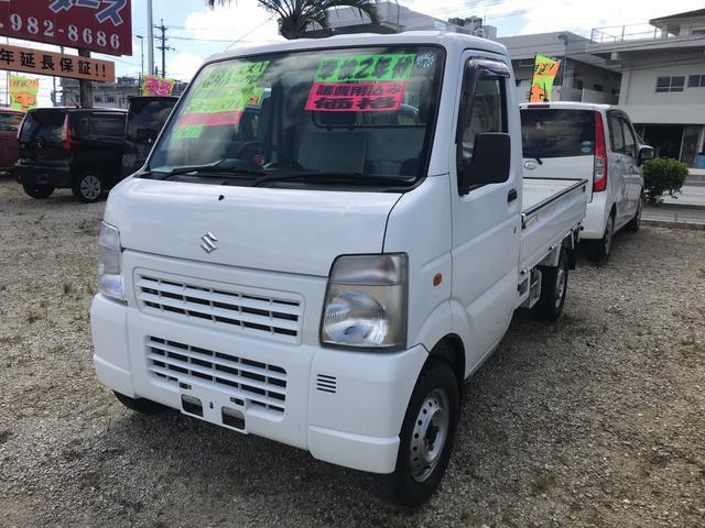 沖縄の中古車 スズキ キャリイトラック 車両価格 44万円 リ済込 2011(平成23)年 10.9万km ホワイト