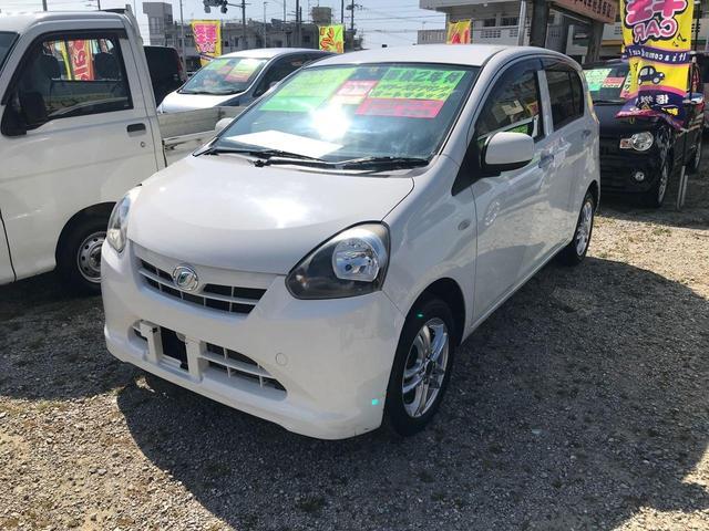 沖縄の中古車 ダイハツ ミライース 車両価格 40万円 リ済込 2012(平成24)年 4.5万km ホワイト