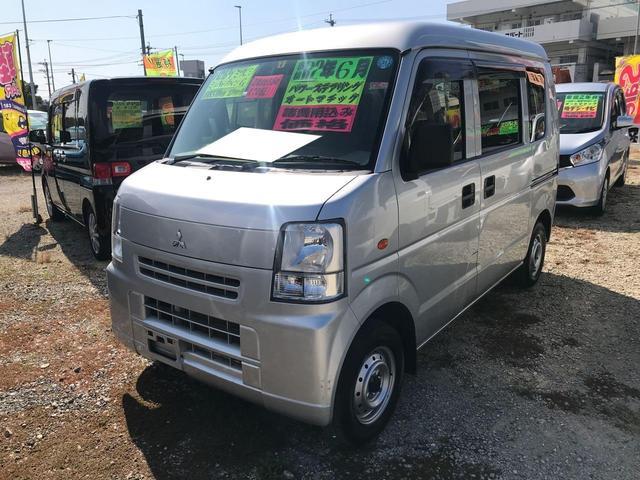 沖縄の中古車 三菱 ミニキャブバン 車両価格 53万円 リ済込 2014(平成26)年 5.5万km シルバー