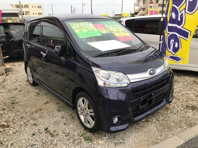 沖縄の中古車 スバル ステラ 車両価格 54万円 リ済込 2012(平成24)年 4.2万km パープル