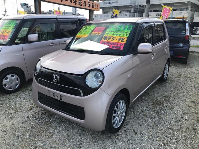 沖縄の中古車 ホンダ N-ONE 車両価格 63万円 リ済込 2013(平成25)年 5.2万km ローズピンク