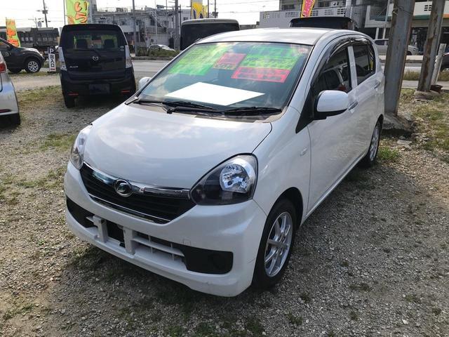 沖縄県の中古車ならミライース X アイドリングストップ ABS CD リモコンキー