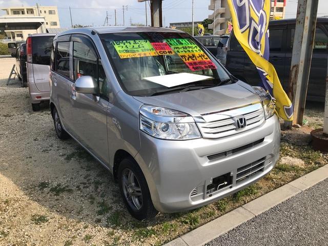 沖縄の中古車 ホンダ ライフ 車両価格 54万円 リ済込 2012(平成24)年 3.0万km シルバー