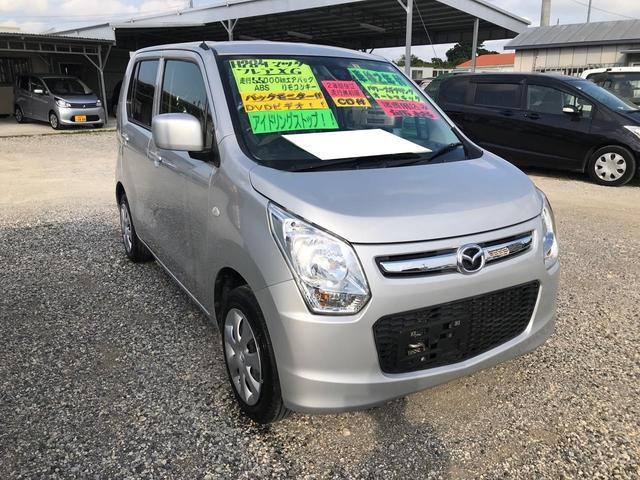 沖縄の中古車 マツダ フレア 車両価格 70万円 リ済込 2016(平成28)年 5.5万km シルバー