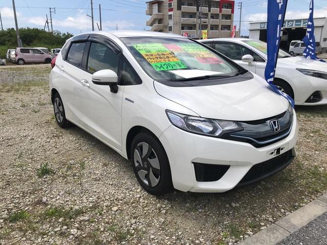 フィットハイブリッド:沖縄県中古車の新着情報