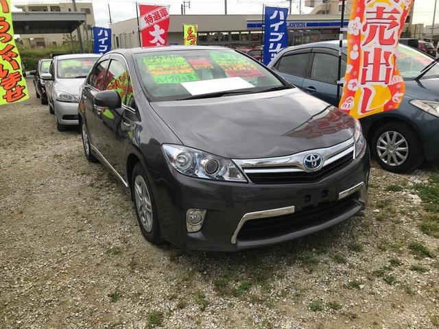 沖縄の中古車 トヨタ SAI 車両価格 89万円 リ済込 2012(平成24)年 6.9万km グレー