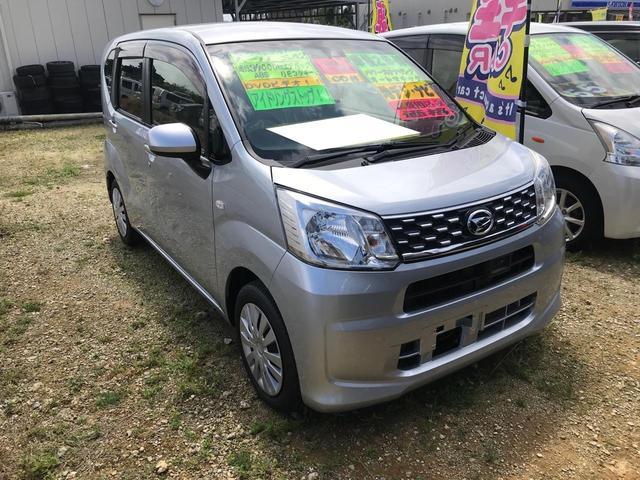 沖縄の中古車 ダイハツ ムーヴ 車両価格 70万円 リ済込 2017(平成29)年 3.4万km シルバー
