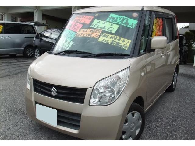 沖縄の中古車 スズキ パレット 車両価格 45万円 リ済別 2008(平成20)年 10.2万km クリアベージュメタリック