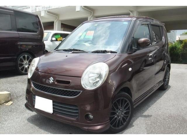 沖縄の中古車 スズキ MRワゴン 車両価格 29万円 リ済別 2006(平成18)年 14.6万km マルーンブラウンパール