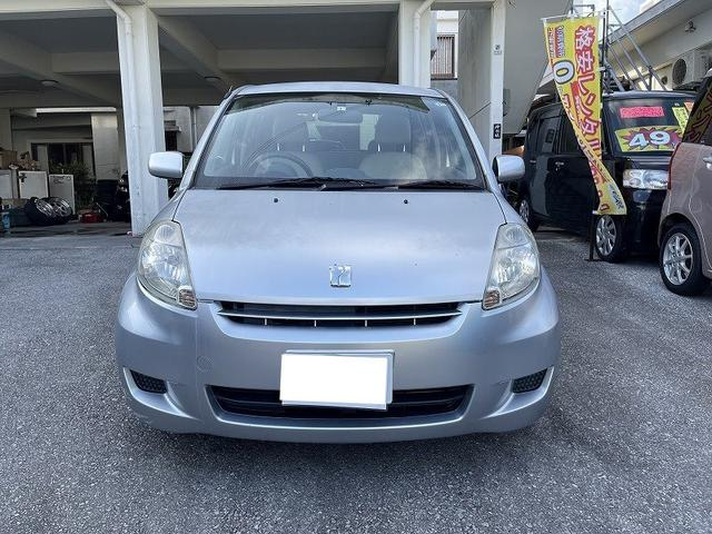 沖縄の中古車 トヨタ パッソ 車両価格 6万円 リ済別 2008(平成20)年 16.9万km シルバー