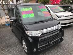 沖縄の中古車 ダイハツ タント 車両価格 83万円 リ済込 平成24年 4.2万K ブラックM