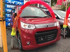 沖縄の中古車 スズキ ワゴンRスティングレー 車両価格 69万円 リ済込 平成25年 6.0万K レッドM