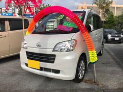 沖縄の中古車 ダイハツ タントエグゼ 車両価格 46万円 リ済込 平成22年 9.7万K パールホワイト