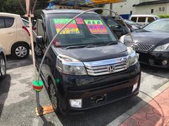沖縄の中古車 ホンダ ライフ 車両価格 49万円 リ済込 平成23年 9.1万K Dグリーン